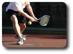Tennis and golf related injuries are common in most acupuncture practices.
